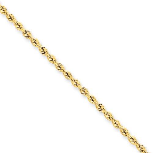 2.25mm, 14k Yellow Gold, Handm