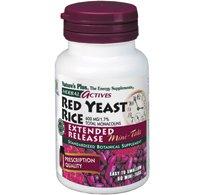 Levure de riz rouge libération prolongée - 60 - Tablette