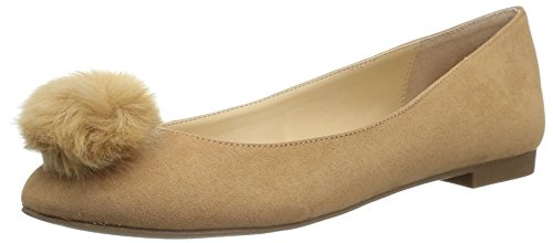 (Style by Charles David Women's Dakota Ballet Flat, Brown, 6.5 Medium)