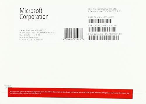 Microsoft Windows Server 2019 Essentials - Lizenz