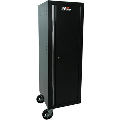 - Homak Mfg. Co, BK08019602 H2Pro Series Full Height Side Locker, Black, 19