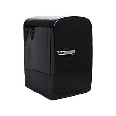 6L Portable Mini Fridge Cooler and Warmer Auto Car Home Office XHC-6 AC&DC BLACK
