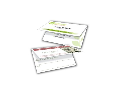 avery folded twoside printable business cards laser