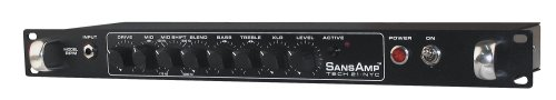 Tech 21 RPM SansAmp RPM - 1U Rackmount Instrument Preamp by tech21