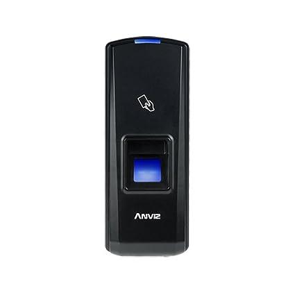 Lector biométrico T5 y RFID ANVIZ para el control de accesos.