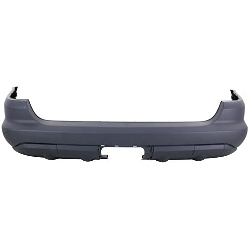 New Evan-Fischer EVA178121013137 Rear BUMPER COVER Primed for 2002-2003 Mercedes Benz ML320 2003-2005 Mercedes Benz ML350 2002-2005 Mercedes Benz (Mercedes Benz Bumper Cover)