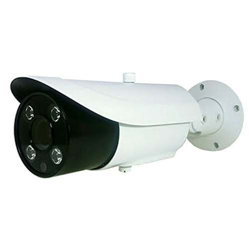 Best Speed Shutter Camera - Long Range Motorized VF License Plate 4 Megapixel 4mp IP Bullet Camera w/ 9-22MM Varifocal 10X Optical Lens 16x Digi and 328ft of Infrared and Adjustable Shutter Speed