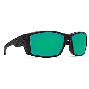 Costa Del Mar Cortez Blackout  Frame Green 580P Sunglasses (2015)