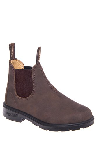 (Blundstone 565 Pull-On Chelsea Boot (Infant/Toddler/Little Kid/Big Kid), Rustic Brown, 1 AU(2-2.5 M US)