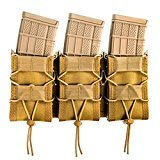 High Speed Gear MOLLE Triple TACO Shingle, Holds 3 Rifle Magazines, MultiCam by High Speed Gear