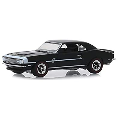 Greenlight 13250-A Greenlight Muscle Series 22-1968 Chevrolet COPO Camaro - Tuxedo Black 1:64 Scale: Toys & Games
