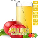 OOOFlavors Apple Juice Flavored Liquid Concentrate Unsweetened (10 ml)