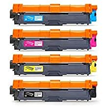 Sprint Toner ® - Brother TN221/225 4 Pack - High Yield Toner Cartridges Rainbow Set HL3140CW, HL3170CDW, MFC9130CW - MFP9340CDW Canadian Company - FREE shipping