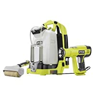 Ryobi P635 One+ 18V Cordless Backpack Power Paint Sprayer (Tool only, battery and charger not included)
