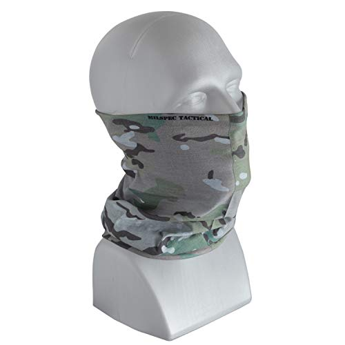 Wrap Military (Multifunction Headwear, Military Neck Gaiter, Athletic Head Wrap, Military Head Wrap, UV Protection)