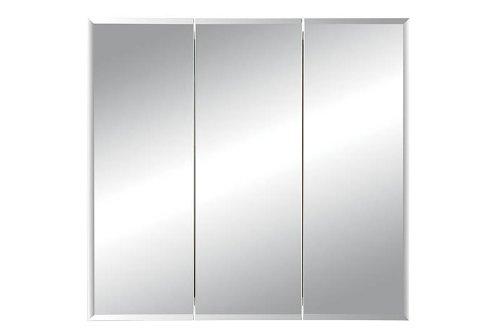 Jensen Medicine Cabinet Horizon Triple Door 30W x 28.25H in. Recessed Medicine Cabinet 255030
