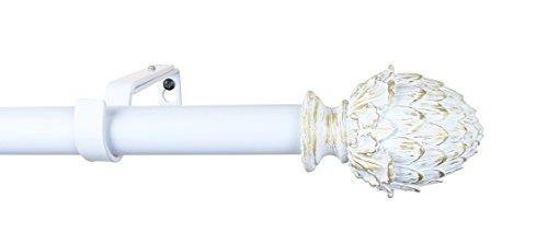 Urbanest 1-inch Diameter Artichoke Adjustable Single Drapery
