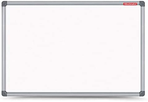 Parois magn/étiques effa/çables /à sec avec cadre en aluminium Classic 50 x 40 cm