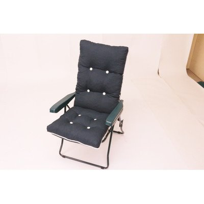 Capri plegable reclinable silla - tela se Heavy Duty Full ...