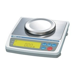 A&D Engineering Everest EK-410i Compact Balance, 400g Capacity, 0.01g Increments, RS-232C Output, ()