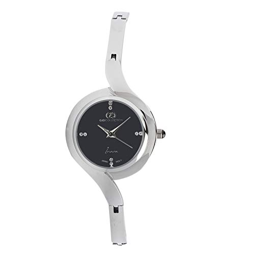 Gio Collection Analog Black Dial Women #39;s Watch