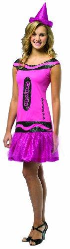 [Rasta Imposta Crayola Shimmering Blush Glitz & Glitter Dress, Pink, Teen 13-16] (Teen Crayola Blush Glitz Dress)