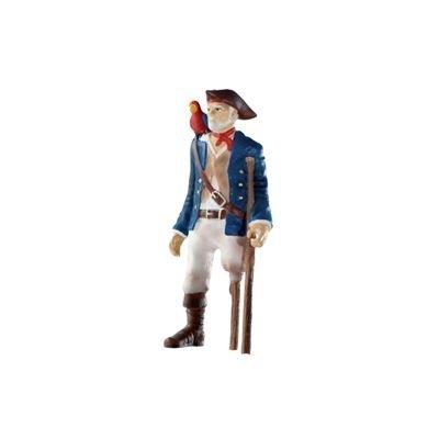 Bullyland Figurine World Figur Pirat mit Holzbein 9 cm by Bullyland