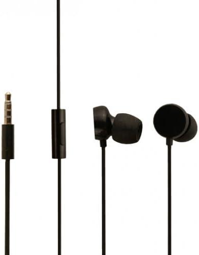 In Ear Black Headphones for Nokia Lumia 730 Nokia Lumia 735 /& Nokia Lumia 830