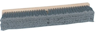 (Pro Line Brushes - Gray Flagged Polypropylene Floor Brushes Push Broom Gray Flagg D36