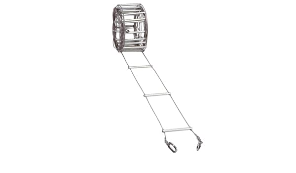 FADERS Escalera Metalica Estrecha 5 M. (12,5 Cm) - Escalera ...