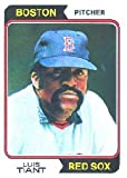 1974 Topps Baseball Card #167 Luis Tiant Excellent Mint