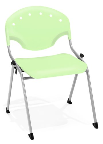 Armless Multi Purpose Stackable - OFM Rico Armless Stacking Chair -  Multipurpose 18
