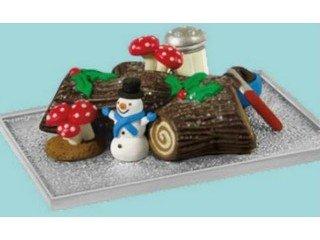 QXE3782 Yummy Yule Log Cake Season's Treatings 2013 Limited Hallmark Keepsake ()
