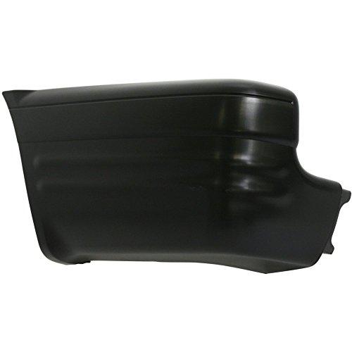 Evan-Fischer EVA17172042163 Bumper End for Isuzu Rodeo 00-04 Rear Primed Left Side Plastic
