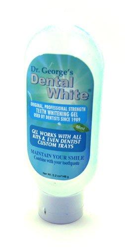 Dr. George's Dental White Mint Flavored Gel 5.2 oz.