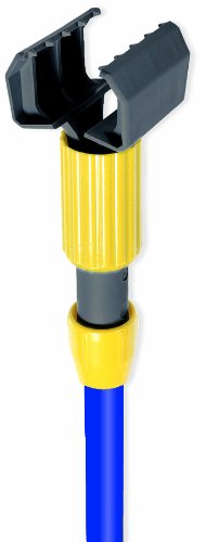 Wilen A70642, Super Jaws Color Guard Fiberglass Wet Mop Handle, 1'' Diameter x 60'' Length, Blue (Case of 12)