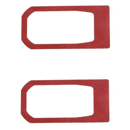Niceautoitem Exterior Decoration Accessories Car Hood Lock Engine Cover Trim for Jeep Wrangler JL 2018 Up (Red)