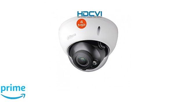 Sony CCD - Cámara Dome Zoom Moto Video-vigilancia 2.7 - 12 mm HDCVI 4 MP - CAM de D de 806: Amazon.es: Bricolaje y herramientas