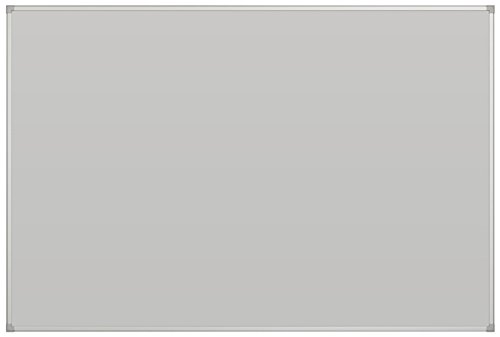 Balt Projector Board, Porcelain Steel w/ Galvanized Backer, Gray, 96 x 48 by MooreCo