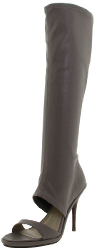 High gunmetal Knee Women's Boot Wella Grey ggqzcd4Pw
