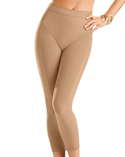 d25cac626c5162 Leonisa Invisible High Waisted Super Comfy Compression Tummy Control  Slimming Capri Shaper Leggings - Buy Online in Oman. | Apparel Products in  Oman - See ...