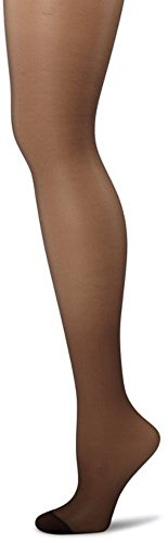 Butterfly Hosiery Women's Ledies Plus Size Queen Sheer Full Support Pantyhose Tights Stockings Black ()