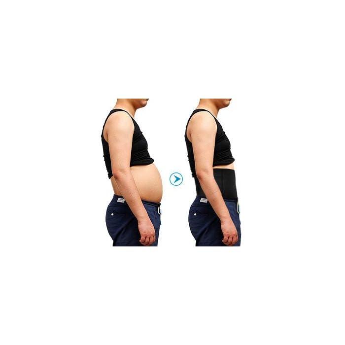 ✅ AGRADABLE & TRANSPIRABLE & SECADO RÁPIDO - El calzoncillos boxer hombre hecho de 85% nylon + 15%, son elásticos, suaves, se adapta perfecto al su cuerpo. Tecnología de absorción de humedad reducir irritante olor a sudor ✅ Adelgazente de la BARRIGA & REDUCE 3 TALLAS - la faja redutora ofrece el mayor control de cintura y abdomen, le hace tener el vientre plano y más delgada. Si le molestan los michelines de la cintural o la grasa en barriga , la faja es un mejor regalo OFERTA,SALE !!!