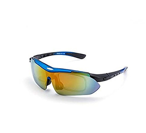 Sports Sunglasses With 5 Sets Interchangeable Lenes For Cycling Running Fishing All Outdoor - Sunglass Louis Case Vuitton