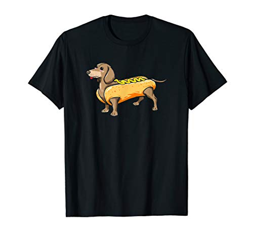 Boys Hot Dog Costumes - Dachshund Wiener Dog w/ Hot Dog