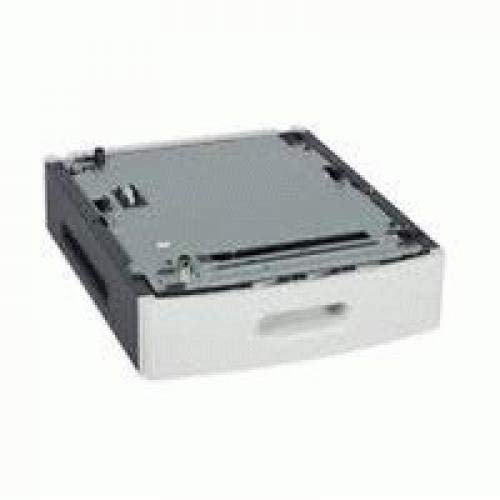 Lexmark 50G0800 bac d'alimentation Bac à Papier 250 Feuilles - Bacs d'alimentations (Bac à Papier, 250 Feuilles, 60-176 g/m², Blanc, A4, A5, A6, Executive, Folio, JIS B5, Oficio, B5, C5, DL, 42 mm)