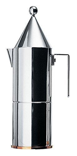 Alessi 90002/6 La Conica Espresso Maker 6 Cups by Alessi