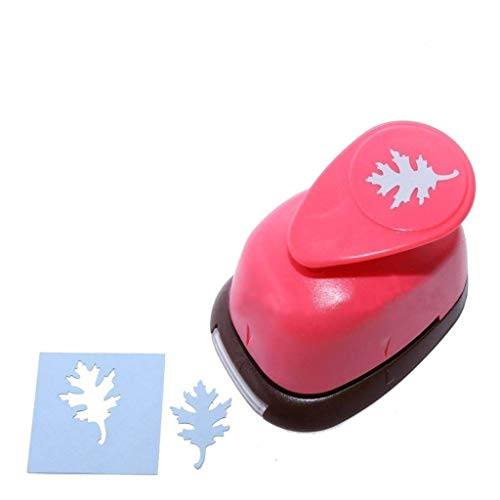 Bira 1 inch Oak Leaf Lever Action Craft Punch, Autumn Punch, Leaf Punch, for Paper Crafting Scrapbooking Cards Arts