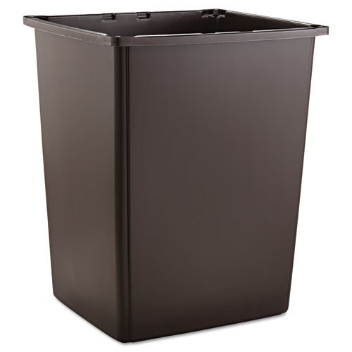 Rubbermaid Commercial Glutton Container, Rectangular, 56 gal, Brown
