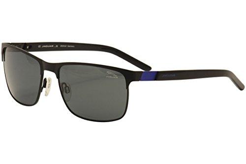 Jaguar Men's 37550 37/550 610 Black/Blue Fashion Sunglasses - Jaguar Sunglasses
